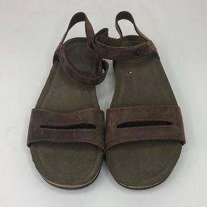 Keen Women's Brown Slip On Sandal Shoe Size 10